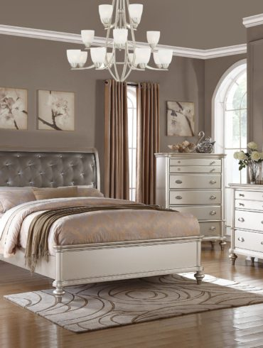 5 PCS QUEEN BEDROOM SET