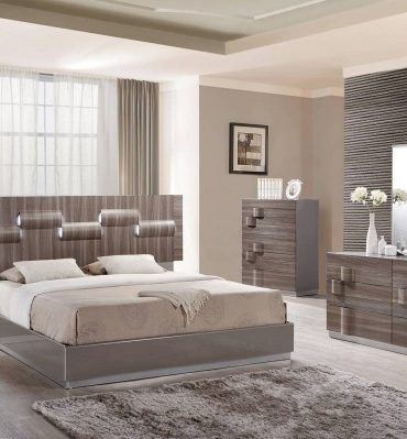 Adel 5pcs Q Bedroom Set