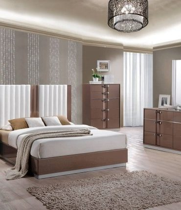Brooklyn 4-pcs Queen Bedroom Set