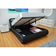 Queen LED Storage Bed