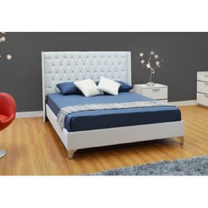Crystal Stones Queen Bed