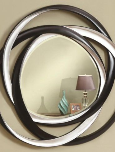 Two-Tone Contemporary Mirror