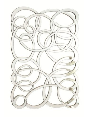 Decorative Swirl Wall Mirror