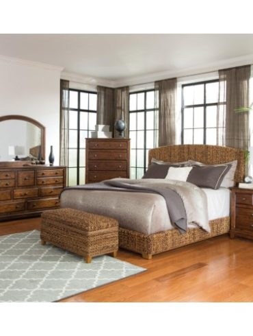 LAUGHTON 5PCS QUEEN BEDROOM SET
