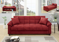 Adjustable Sofa/ Flip up Compartment/Microfiber
