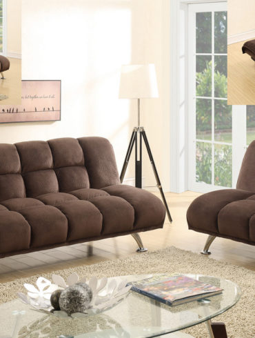 Chocolate Sofa Futon