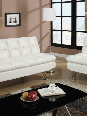 White adjustable Sofa