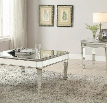 MIRROR SQUARE COFFEE TABLE