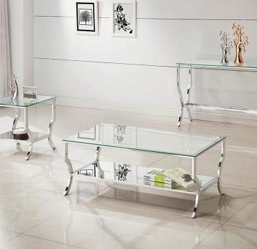 glass top rectangle coffee table