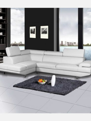 FULL ECO LEATHER SECTIONAL LEFT OR RIGHT