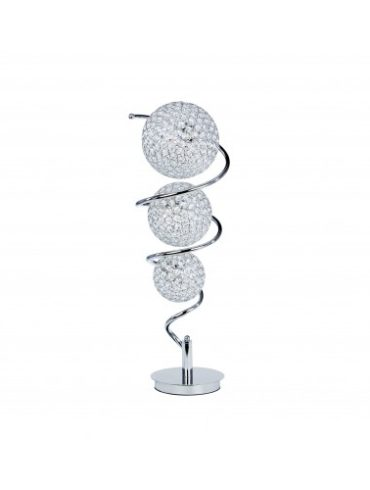 spiral lamp with cristal ball